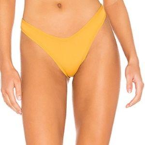 L*space Bronze Whiplash Bikini Bottom Bitsy Cut